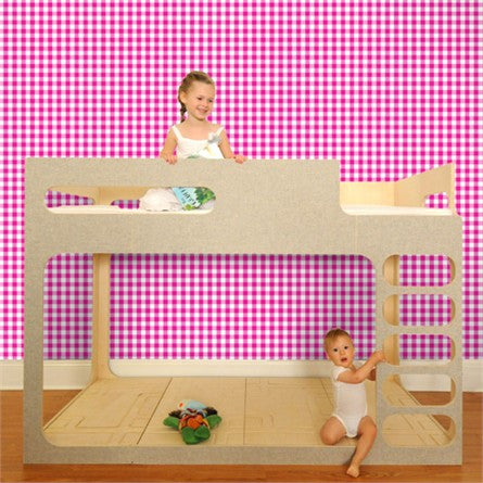 Pop & Lolli Wall Paper - Giddy Gingham WP162