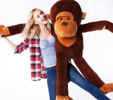 The Monkey Plush Stuffed SM014