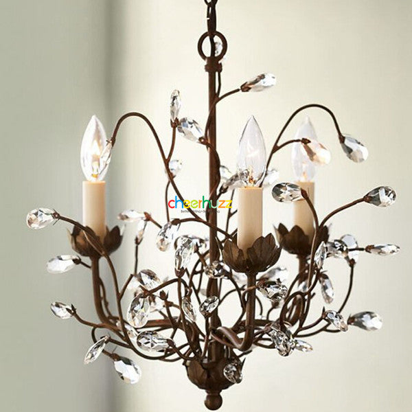 Crystal Iron Chandelier PL361 - Cheerhuzz
