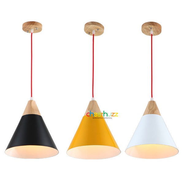 Wooden Pendant Lamp PL366 - Cheerhuzz