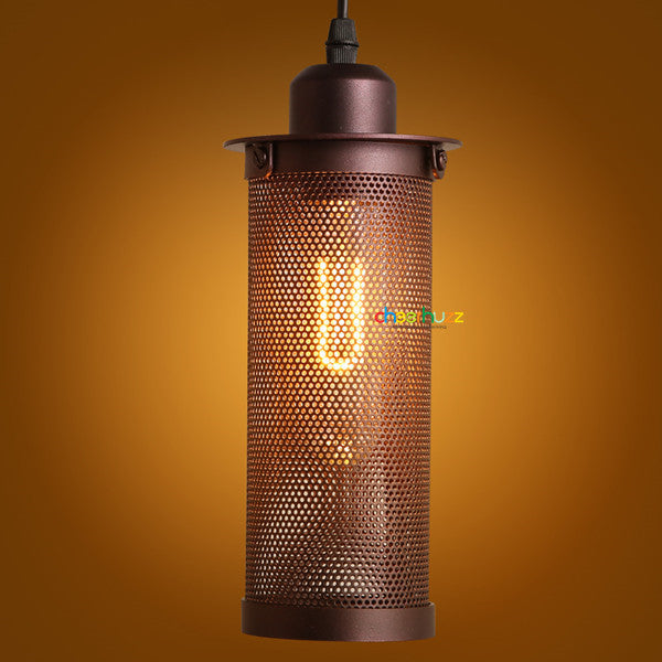 Vintage Industrial Tube Mesh Light PL403