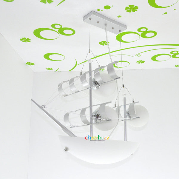 ELK Lighting Sailing Yacht Lamp Pendant Light PL507 - Cheerhuzz
