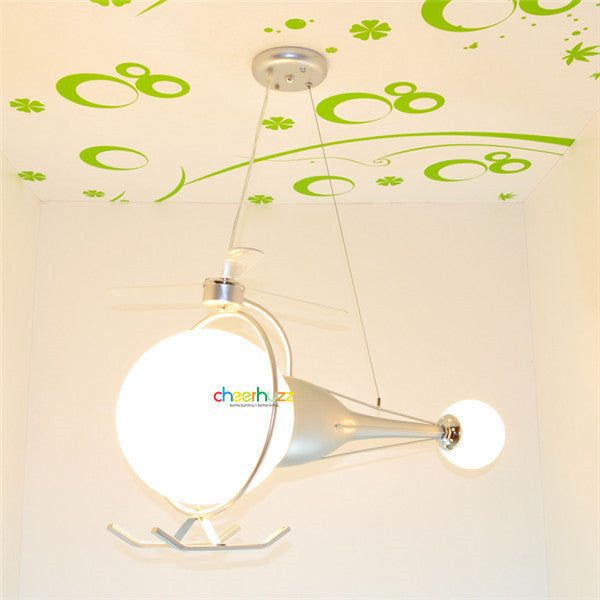 Cartoon Aircraft Chandelier Fixture PL509 - Cheerhuzz