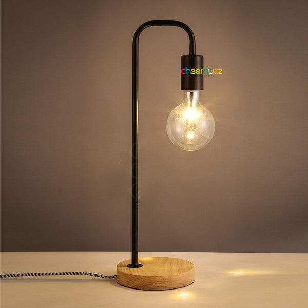 Wooden & Metal Table Lamp TL133 - Cheerhuzz
