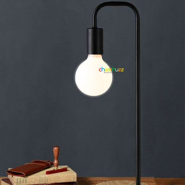 Wooden & Metal Table Lamp TL133