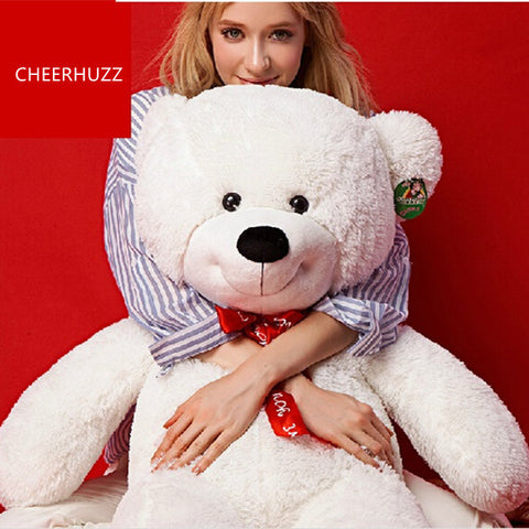 THE White TEDDY BEAR PLUSH STUFFED TOY