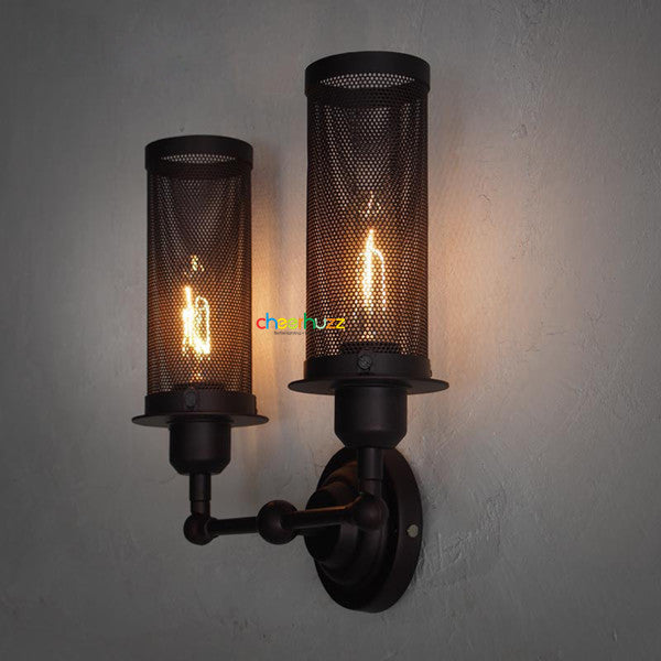 2 Adjustable Head Vintage Wall Sconce TL187 - Cheerhuzz