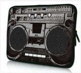 "15""-15.6""inch Tablet Laptop Case Bag Pouch Protective Cover by Funky Planet Bags/Cases *BOOMBOX*"
