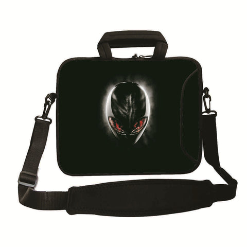 "15""- 15.6"" (inch) LAPTOP BAG CARRY CASE/BAG WITH HANDLE & STRAP NEOPRENE FOR LAPTOPS/NOTEBOOKS, *ALIEN*"