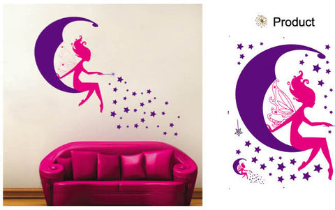 WALL STICKERS, BEDROOM WALL STICKERS, BEDROOM DECOR FOR BOYS & GIRLS ***FAIRY***