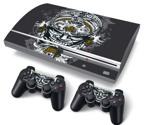 PS3 FAT PlayStation 3 ORIGINAL Skin/Stickers PVC for Console + 2 Controllers/Pads Decal Protector Cover ******