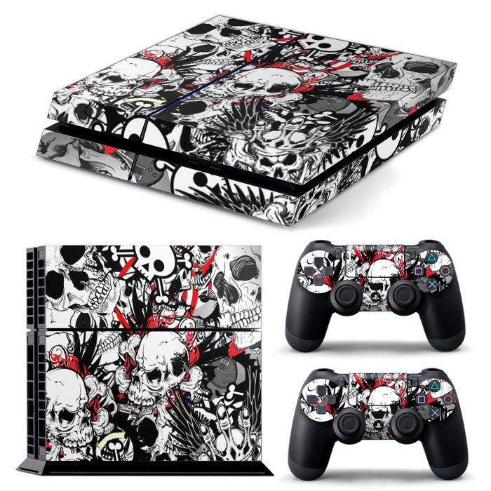 PS4 FULL BODY Accessory Wrap Sticker Skin Cover Decal for PS4 Playstation 4, ***C***