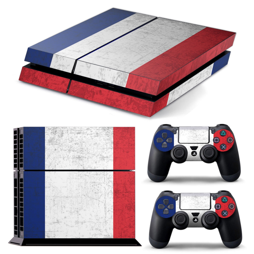 PS4 FULL BODY Accessory Wrap Sticker Skin Cover Decal for PS4 Playstation 4, ***Germany***