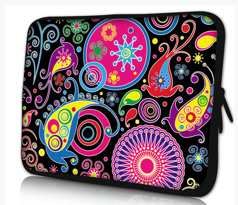 "13""- 13.3""inch Tablet Laptop Case Bag Pouch Protective Cover by Funky Planet Bags/Cases *Painting*"