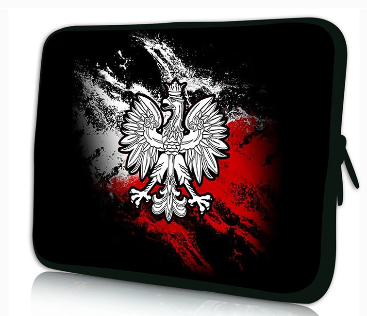 "10 ""inch Tablet Laptop Sleeve Protective Case by Funky Planet Bags/Cases *Poland*"