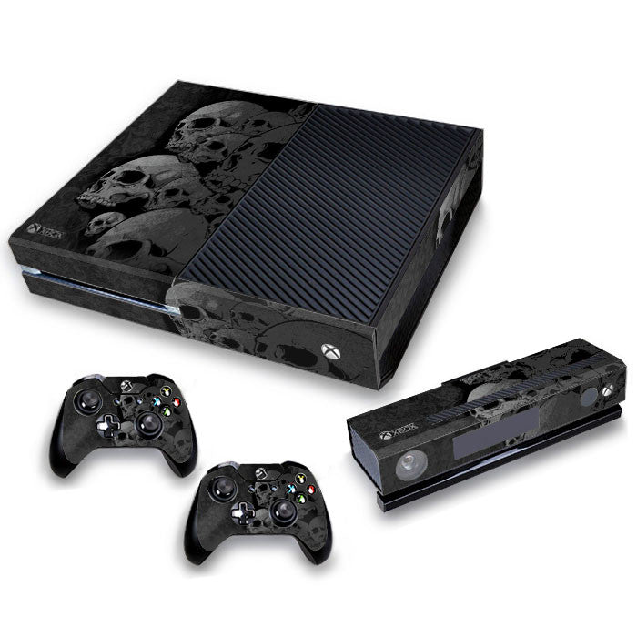 Xbox One Skin/Stickers PVC for Xbox One Console, Kinect & 2 Controllers***Skull Collection***