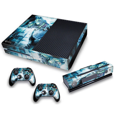 Xbox One Skin/Stickers PVC for Xbox One Console, Kinect & 2 Controllers***Electro***