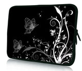 "13""- 13.3""inch Tablet Laptop Case Bag Pouch Protective Cover by Funky Planet Bags/Cases * Black2B *"