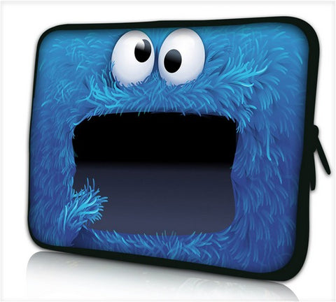 "15""- 15.6"" (inch) LAPTOP SLEEVE CARRY CASE/BAG NEOPRENE FOR LAPTOPS/NOTEBOOKS, ZIPPED *COOKIE*"