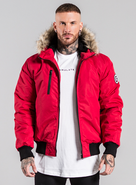 LOGAN JACKET - RED