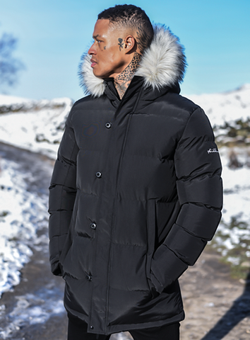 VAULT BUBBLE PARKA - BLACK