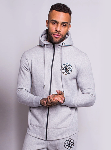 CORE HOOD - GREY MARL