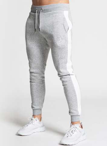 Albans Jogpants - Grey Marl