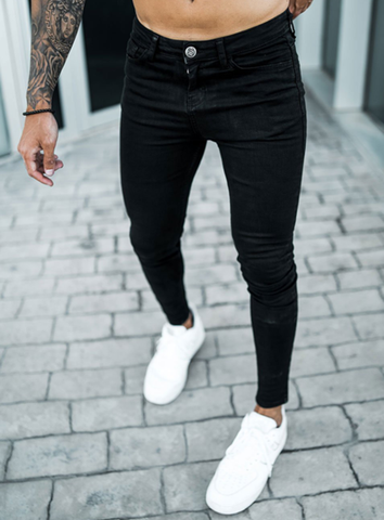 SUPER SPRAY ON JEANS - BLACK