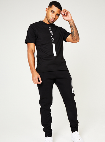 New York Ready Tee - Black/White