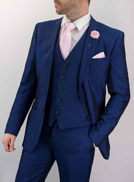 FORD THREE PIECE SUIT - BLUE