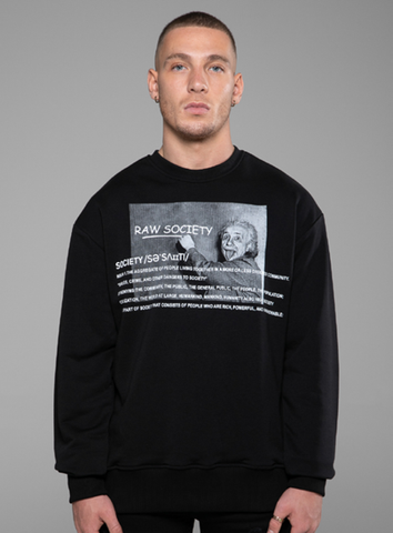 GENIUS SWEATSHIRT - BLACK