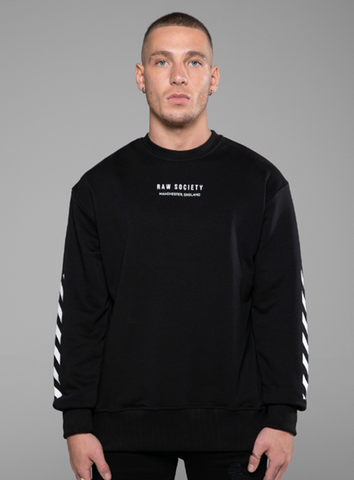 HACIENDA SWEATSHIRT - BLACK