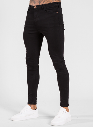 Luca Skinny Stretch Jeans - Signature Jet Black