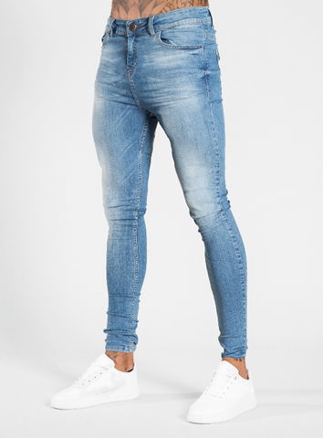 Luca Skinny Stretch - Signature Light Blue