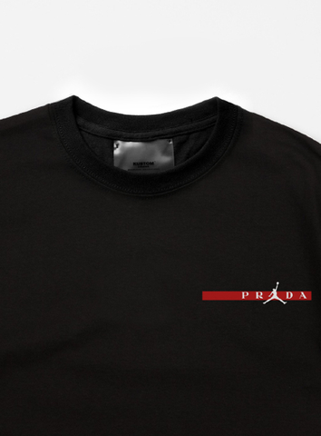 JORDAN STRIP TEE - BLACK