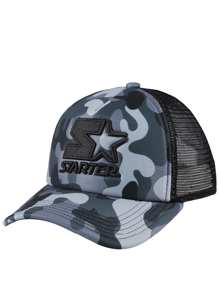 SAN FRANCISCO - FOAM FRONT TRUCKER - GREY/BLACK