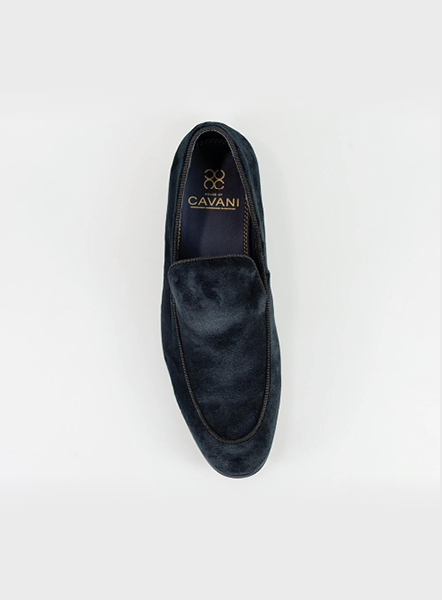 MILAN VEVET LOAFER - BLACK