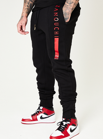 New York Ready Jogger - Black/Red