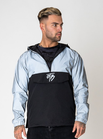 REFLECTIVE OVERHEAD JACKET - SILVER