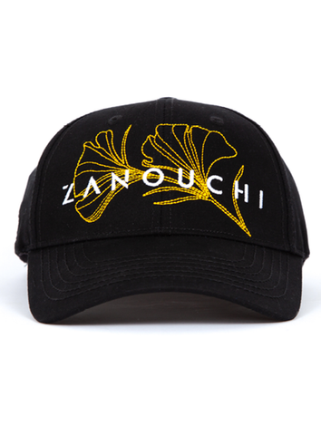 SAKURA CAP - BLACK/GOLD
