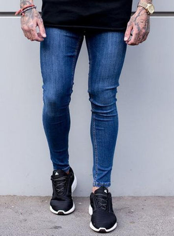 SUPER SPRAY ON JEANS - DARK WASH