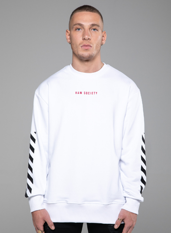 TRUTH SWEATSHIRT - WHITE