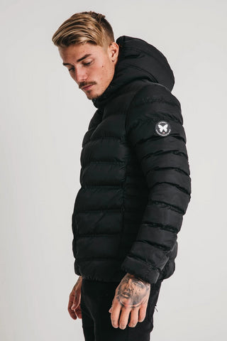 ELEMENT PUFFER JACKET - BLACK