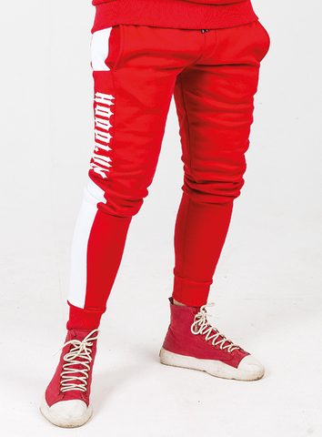 JOGGER - RED/WHITE