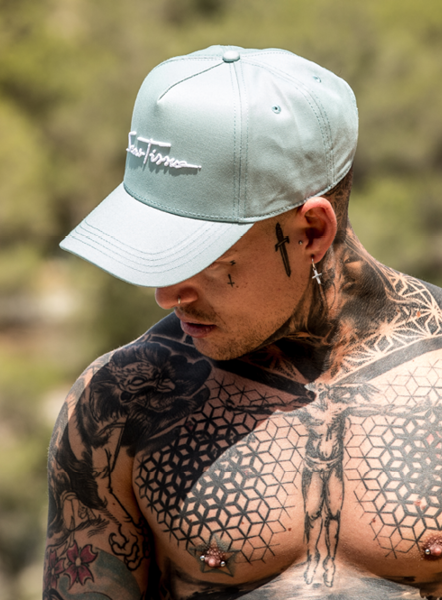 SIGNATURE BASEBALL CAP - TEAL