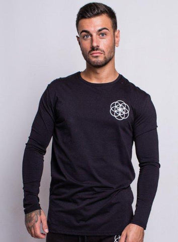 CORE LONG SLEEVE TEE - BLACK