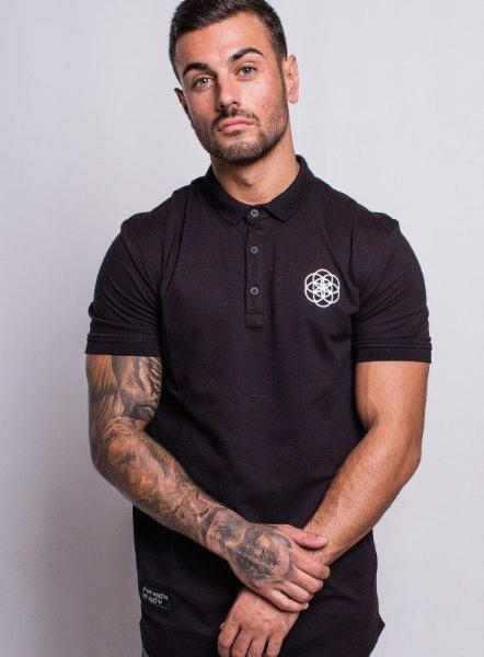 CORE POLO - BLACK