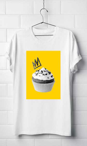 Yellow Cupcake - Organic T-shirt