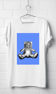 Blue Teddy Gaga - Organic T-shirt