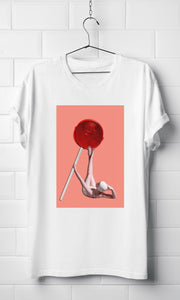Lollipop Vogue - White Organic T-shirt